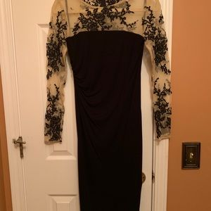 David Meister Lace Top Dress 🖤